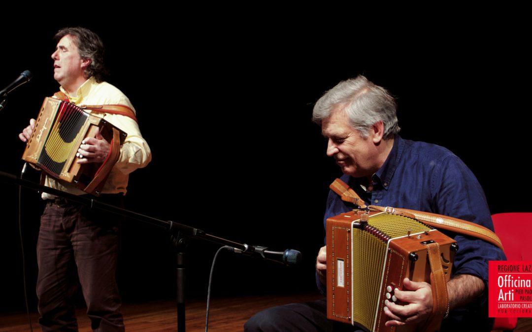 Arte popolare, fra tradizione e modernità: un incontro con Ambrogio Sparagna e Riccardo Tesi